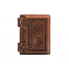 Нарек в деревянном переплете, маленький (на армянском)