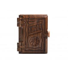 Нарек в деревянном переплете, средний (на армянском)