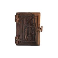 Новый Завет в деревянном переплете, маленький (на армянском)