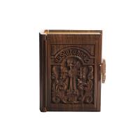Подарочная Библия в деревянном переплете с позолотой (на армянском)