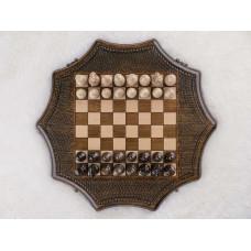 Шахматы деревянные. Грачья Оганян