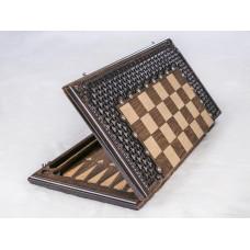 Шахматы-нарды с плетением. Грачья Оганян