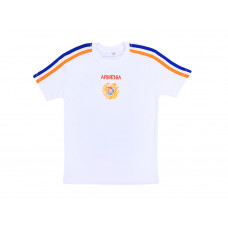 """Детская футболка белая """"Герб Армении"""" арт. 10983"""