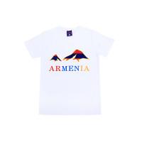"""Белая футболка  """"Армения. Арарат"""" арт. 11001"""