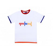 """Детская футболка белая """"Духов. Армения"""" арт. 11002"""