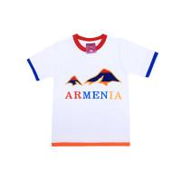 """Детская футболка белая """"Арарат"""" арт. 11005"""
