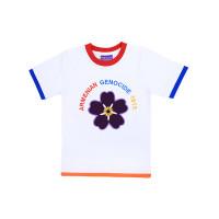 """Детская футболка белая """"Armenian genocide 2015"""" арт. 11010"""