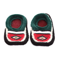 Вязаные детские тапочки носочки арт. 10854