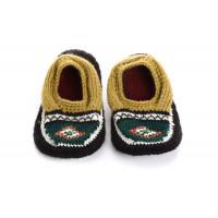 Вязаные детские тапочки носочки арт. 10855