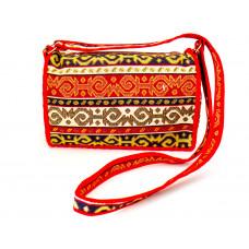 Текстильная сумка с орнаментом