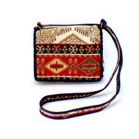 Текстильная сумка с армянским орнаментом