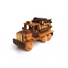 Деревянная эко-игрушка Пожарная машинка  арт. 1430