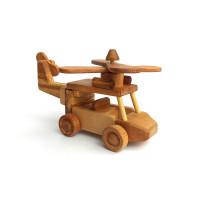 Деревянная эко-игрушка Вертолет арт. 1433