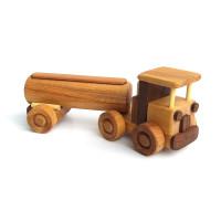 Деревянная эко-игрушка Бензовоз арт. 1464