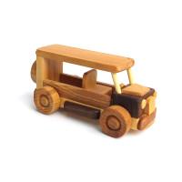 Деревянная эко-игрушка Мини Автобус арт. 1454