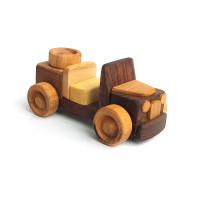 Деревянная эко-игрушка Мини Машинка (темная) арт. 1457