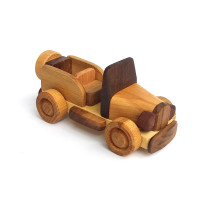 Деревянная эко-игрушка Мини Ретро машинка арт. 1456