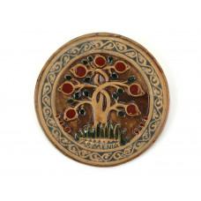 """Декоративная тарелка """"Древо жизни"""" маленькая"""