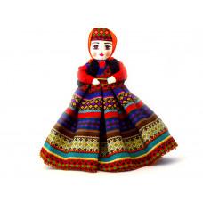 Интерьерная кукла в широкой юбке 45 см