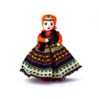 Интерьерная кукла в широкой юбке 15 см