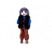"""Интерьерная кукла """"Мужчина"""" в национальном костюме 40 см"""