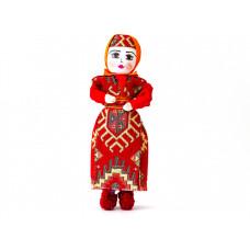 Текстильная кукла в национальном костюме 25 см