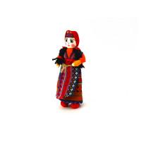 Текстильная кукла в национальном костюме 15 см
