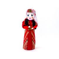 """Интерьерная национальна кукла """"Танцовщица в фате"""""""