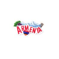 "Сувенирный магнитик ""Арарат-Армения"""