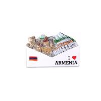 """Сувенирный магнитик """"Я люблю Армению"""""""