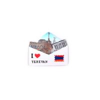 """Сувенирный магнитик """"Я люблю Ереван"""""""