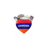 "Сувенирный магнитик ""Сердце Армении"""