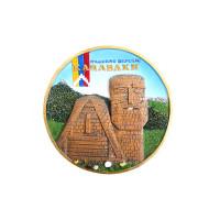 "Сувенирная настенная тарелка ""Карабах. Дед и Баба"""