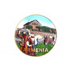 """Сувенирная настенная тарелка """"Армения"""""""
