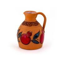Глиняный кувшин для напитков маленький
