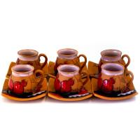Набор кофейных чашек 6 шт