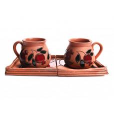 """Кофейный набор чашек """"Сладкая парочка"""" (2 шт)"""