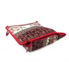 Текстильная хлебница с крышкой